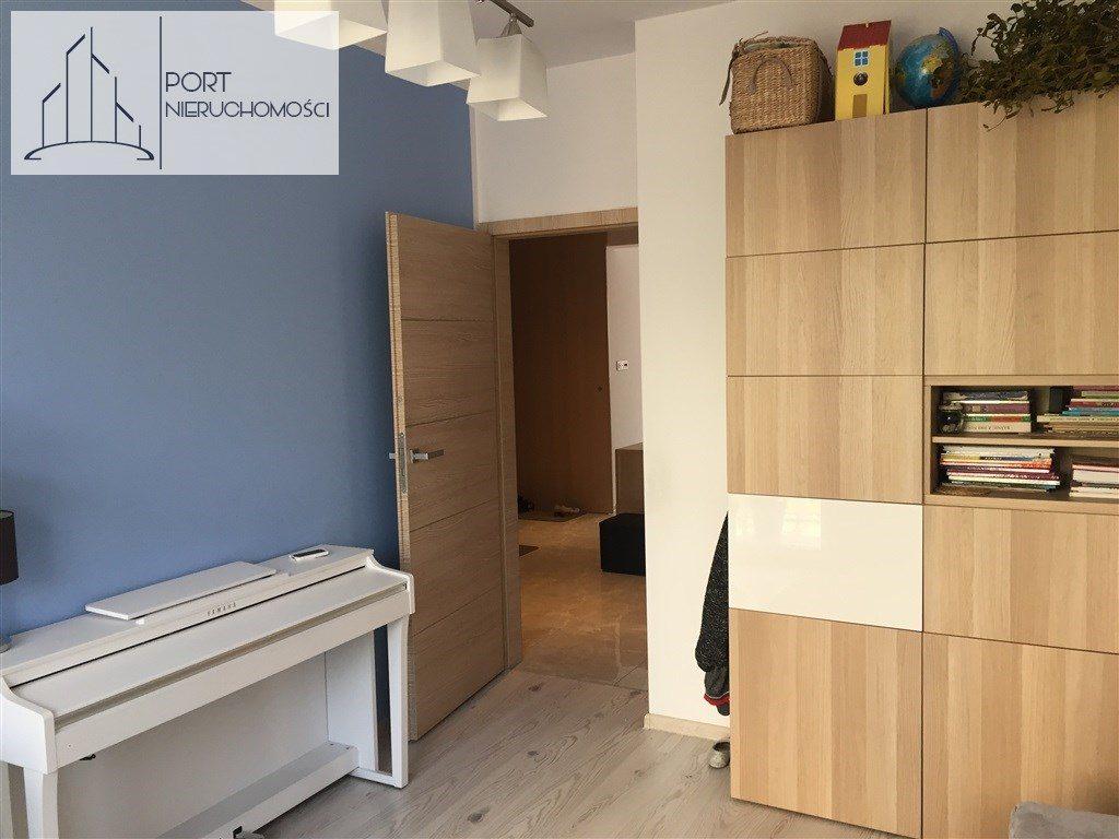 Łódź Bałuty, Apartament z 2016 roku. Widok na pokój nr 1.